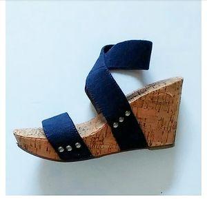 "LUCKY BRAND | ""Marinah"" Wedge Sandals"